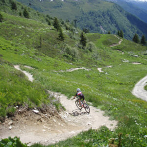 mountainbike Chamonix