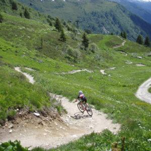 mountainbike Chamonix
